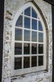 Zmierzch w okno Obraz Stock