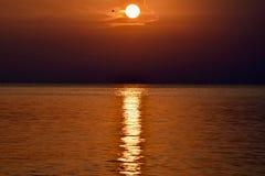 Zmierzch w Rovinj, Istria, Chorwacja zdjęcia royalty free