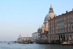 zmierzch Wenecji zdjęcie stock