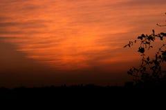 Zmierzch, wschody słońca Zdjęcia Royalty Free