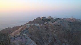 Zmierzchu al 4k czasu upływu ain turystyczny miejsce blisko Dubai zdjęcie wideo
