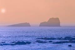 zmierzchu duży brzegowy sur Fotografia Royalty Free