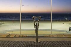 Zmierzchu Horizont plaża Perth Australia Zdjęcie Stock