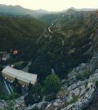 Zmierzchu jaru dolina Obraz Stock