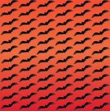 Zmierzchu koloru tło z lataniem uderza motyw Zdjęcia Royalty Free