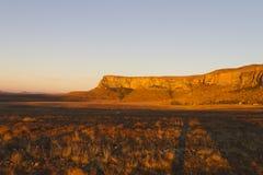 Zmierzchu krajobraz w Afryka Obrazy Royalty Free