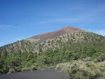 Zmierzchu krater Zdjęcie Royalty Free