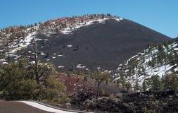 Zmierzchu krateru wulkan Zdjęcie Stock
