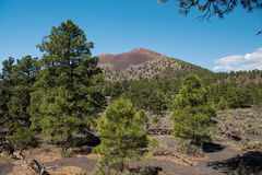 Zmierzchu krateru wulkanu Krajowy zabytek Zdjęcie Royalty Free