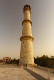 zmierzchu mahal minaretowy taj Fotografia Royalty Free