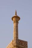 zmierzchu mahal minaretowy taj Zdjęcie Stock