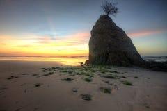 Zmierzchu mech Batu Luang Sabah Obrazy Royalty Free