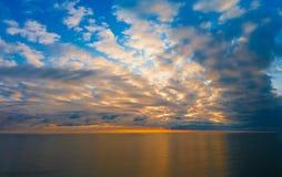 Zmierzchu morze Obraz Royalty Free