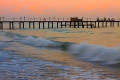 Zmierzchu morze Zdjęcia Royalty Free