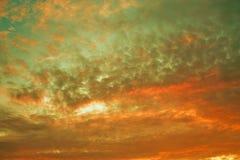 Zmierzchu niebo Obrazy Stock