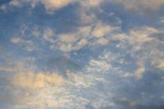 Zmierzchu niebo Fotografia Royalty Free