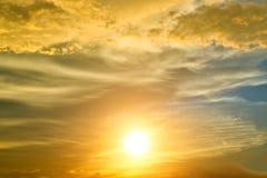 Zmierzchu niebo Obraz Royalty Free