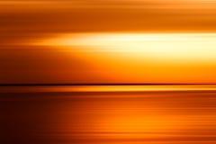 Zmierzchu oceanu horyzontu ackground Zdjęcia Stock