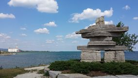 Zmierzchu punkt, Colingwood, Ontario obraz royalty free