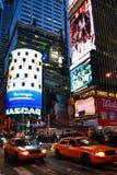 Zmierzchu środek miasta Manhattan Miasto Nowy Jork Zdjęcie Stock