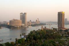Zmierzchu widok Kair miasto Obraz Royalty Free