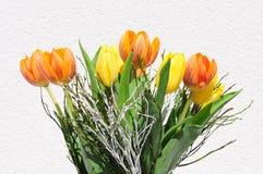 zmieszać bukietów gradientów cyfrowy tulipanu ilustracji Fotografia Stock