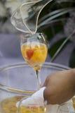 zmieszać drinka Fotografia Royalty Free