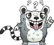 Zmieszany Brzydki lemur royalty ilustracja