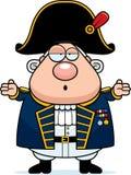 Zmieszany kreskówki Brytyjski Admiral ilustracji