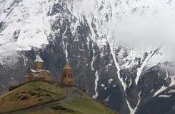 zminda sameba μοναστηριών της Γεωργί&al Στοκ φωτογραφία με δικαίωμα ελεύθερης χρήσης