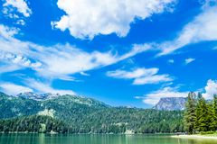 Zminje Jeziorny dotyk czysta natura w Montenegro Zdjęcia Royalty Free