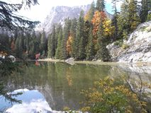 Zminje sjön Arkivfoto