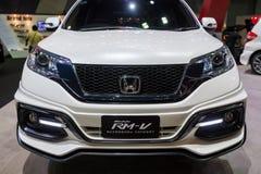 Zmodyfikowany Honda CR-V RM-V na pokazie Obrazy Royalty Free