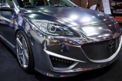 Zmodyfikowany Mazda 3 na pokazie Fotografia Stock