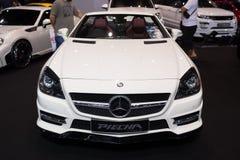 Zmodyfikowany Mercedez Benz na pokazie Zdjęcie Royalty Free