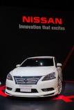 Zmodyfikowany Nissan Sylphy na pokazie Zdjęcia Stock