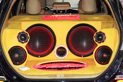 Zmodyfikowany samochód Obrazy Royalty Free
