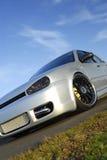 zmodyfikowany samochód występ Zdjęcie Royalty Free