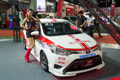 Zmodyfikowany Toyota na pokazie Zdjęcie Stock