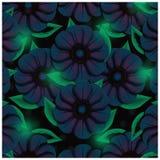 Zmrok - błękit kwitnie tło obrazy stock