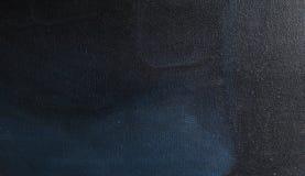 Zmrok - błękit Malująca bieliźniana tekstura obraz royalty free