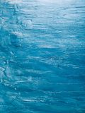 Zmrok - błękit malujący drewniany tło Fotografia Stock