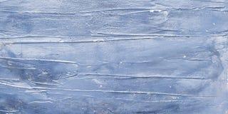 Zmrok - błękit malujący drewniany tło Zdjęcia Royalty Free