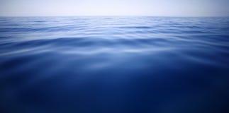 Zmrok - błękit, morze śródziemnomorskie Obrazy Royalty Free