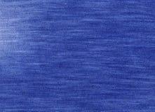Zmrok - błękitna drelichowa tekstylna tekstura Zdjęcie Stock