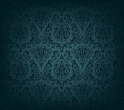 Zmrok - błękitna tapeta Zdjęcie Royalty Free