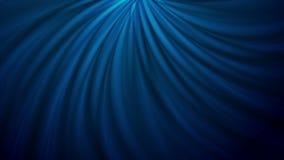 Zmrok - błękitnego falistego zawijasa abstrakcjonistyczna wideo animacja royalty ilustracja