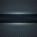 Zmrok - błękitny metalu tło Obraz Royalty Free