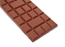 Zmrok czekoladowych barów dojna cała sterta odizolowywająca Fotografia Stock