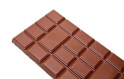 Zmrok czekoladowych barów dojna cała sterta odizolowywająca Obraz Stock